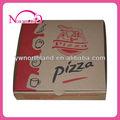 hot venda de papel ondulado caixa de pizza para o fast food