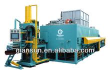 2500T-3000T horizontal aluminum multi billet heating furnace with hot log shear
