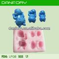 di alta qualità bambino stampo di silicone per la decorazione della torta baby forme di silicone sapone stampo