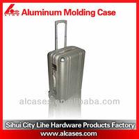 hot sale aluminum trolley luggage uk