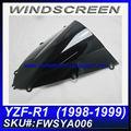 Para yamaha melhor r1 1998-1999 2013 windscreenfwsya006