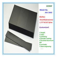customized case aluminum junction box