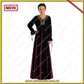 2014 aktuelle neuen design abaya islamische abaya arabischen kleidung für damen kdt6001 mit guten preis