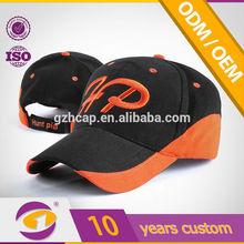 Slash cutting design on the bill fashion design high quality cap