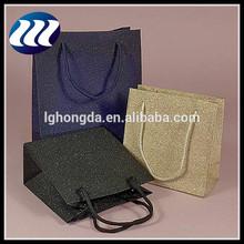 elegant glitter paper bags