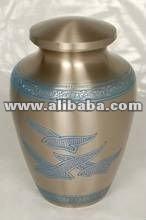 Brass Memorial Funeral Urn