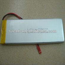 Walkie talkie li-polymer battery 3.7v 6150mAh high capacity lithium battery