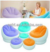 Inflatable Leisure Sofa with Ottoman