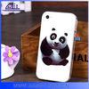 2014 Classcial Panda Design Sof Phone Cover For iPhone 4 New Cartoon Case