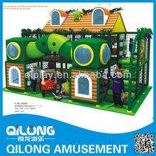 2014 Kids Play Indoor Sets Jungle Theme Amusement Park ,Indoor Playground