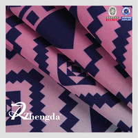 High Quality Polyester Printed Gradient Color Fabric