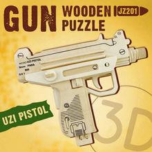 Robotime 3D Puzzle toy wooden gun