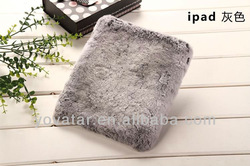 Case For iphone 5 5S Bling Luxury Warm Soft Rex Rabbit Fur/Hair Case Cover For ipad 2 3 4 mini Iphone 5 5G 4 4S
