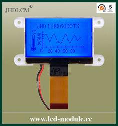 2.2 inch FSTN Dot Matrix LCD Display with White LED Backlight JHD12864-G73IBSB-G