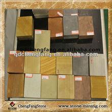 All kinds of color sandstone/sandstone for sale.yellow,purple,green sandstone