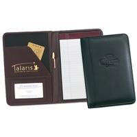 Custom A4 PU leather bound folder