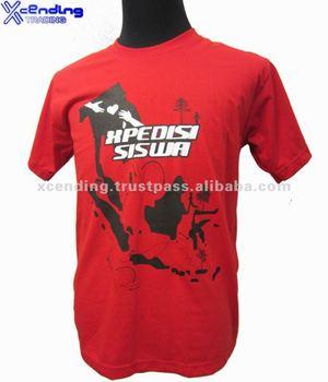 Customized Cotton Printed t-shirts O-neck