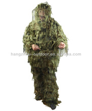 3D Camo militar Ghillie nieve traje traje