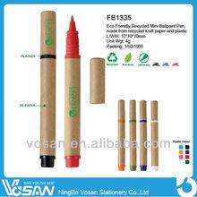 Recycled Mini Stick Ballpoint Pen