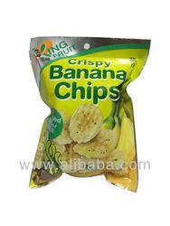 Crispy Banana Chips Seaweed Flavor