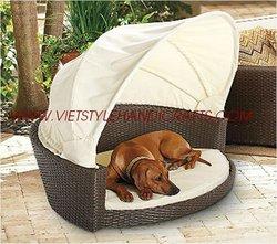 Poly Rattan Dog House