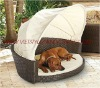 Poly Rattan Dog House