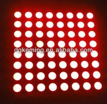 60.2x60.2mm Dot Matrix led display moudle 5mm 8x8 Dots