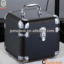 MLD-CC209 Superior Quality Popular Black Small Beauty aluminum Jewelry Display Box