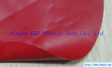 RED PVC VINYL COATED OXFORD FABRIC RV COVER MATERIAL