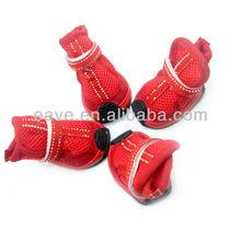 M1015 High Quality Pink Dog Shoes Pet Products Wholesale Pet Shoes Factory