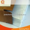 plástico ondulado coroplast sinal exterior de material de placa