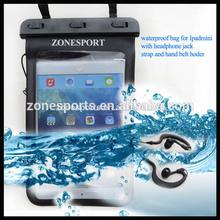 2014 wholesale hot selling Waterproof Bag for Ipad, waterproof bag for Ipad mini