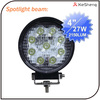 high power 12v 27w led work light for off road