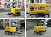 Hot selling construction machinery high mast light tower generator construction equipment