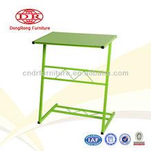 metal frame tempered glass top computer desk student desk