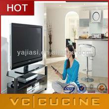 Hot sale high gloss lcd tv cabinet model