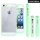 New product! transparent PC+TPU frame case for iphone 5