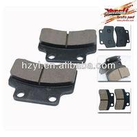 Good friction motocicleta brake pads part for motocicleta