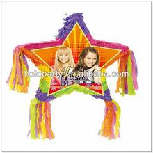 piñata de estrellas de diseño para los niños del partido