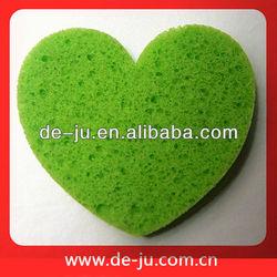 Promotion Cleaning Tools Sponge Light Green Sponge Nylon Bath Sponge