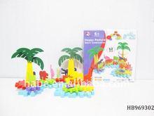 Happy Farm Gear Building Blocks Toys For Child