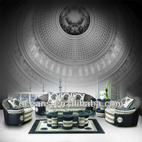 OSHINES FURNITURE factory wholesale luxury royal classic european fabric sofa sets designs , OCS-F19