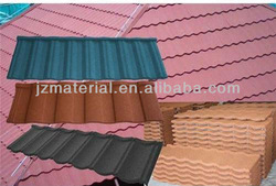 SONCAP 1170mm*420mm natural stone coated steel roofing tile mate/30-50 Years Lifetime Roof Sheets/roof shingle