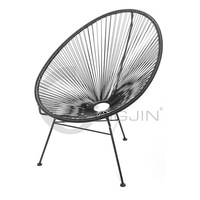 Best-selling Egg Shape Outdoor Furniture Wicker Chair