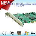 Sur la vente de bonne qualité real pcie hd. hdmi. capture vidéo carte de 4ch hdmi. carte de capture