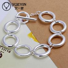 Alibaba spanish solid silver friendship bracelets men