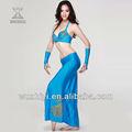 Neueste wuchieal tanzkostüme, bra+skirt hoch- Qualität kostüm, hochwertige india bauchtanz performance wear( qc2029)