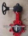 Installation facile bs4504 pn10/pn16 standard bride fonte lug vanne papillon chine fabricant