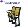 FM-B-98 Used wood school furniture desk chair for university