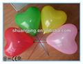 Big coração forma de balão para decoração de casamento